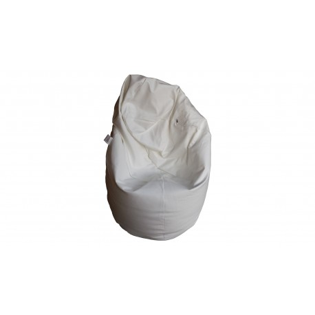 Beanbag Chair Cover Medium Point - White