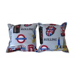 Poduszki pikowane na krzesła - 020