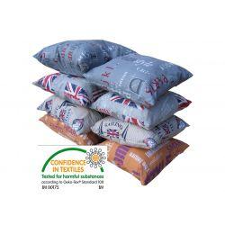 Pokrowiec poduszki dekoracyjnej 40x40 cm - LONDON