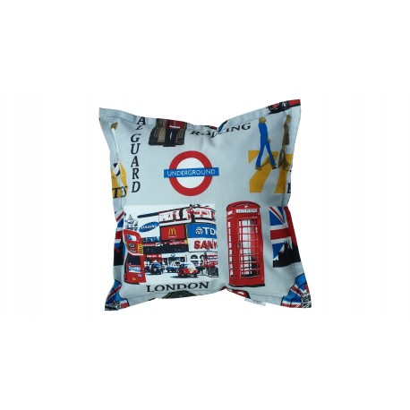 Decorative pillow covers 40x40 cm-LONDON
