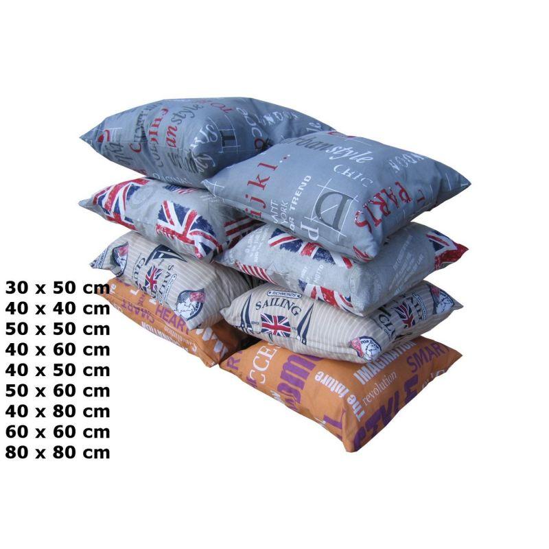 Pokrowiec poduszki dekoracyjnej  50x50 cm - LONDON