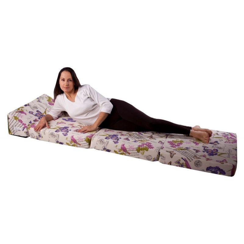 Fotel materac składany 200x70x10 cm - 1333