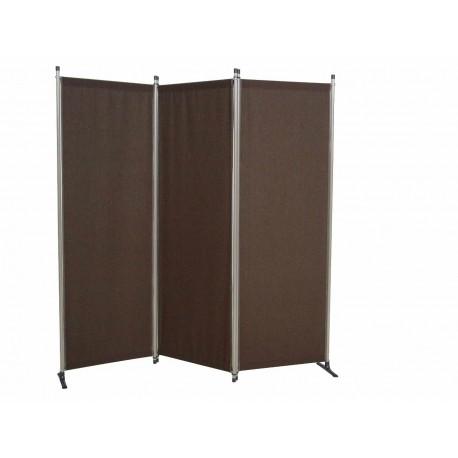 Tri-Folding Screen - Brown