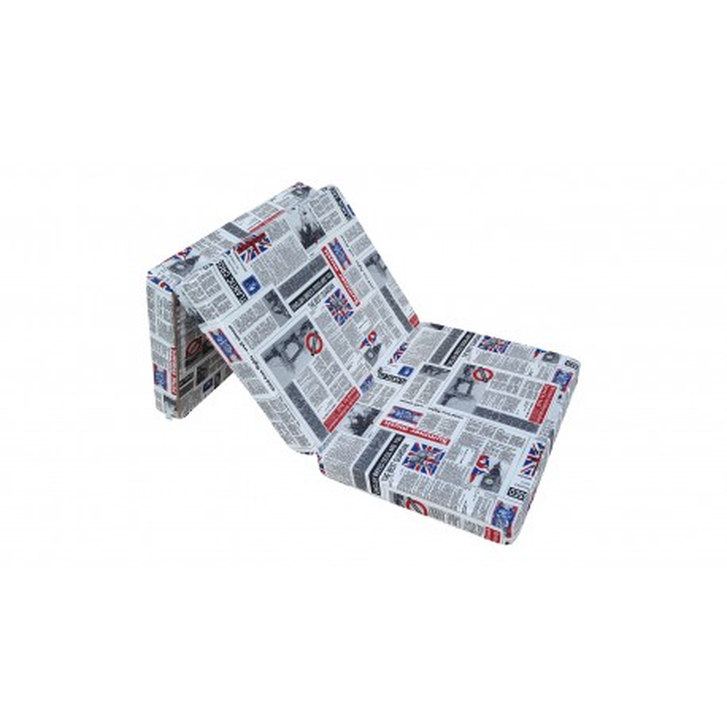 Materac składany 198x80x10 cm - LONDON2