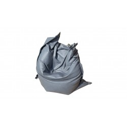 Pouf Relax POINT - gris