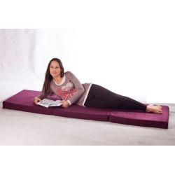 Pufa Relax POINT - Ciemno czerwony
