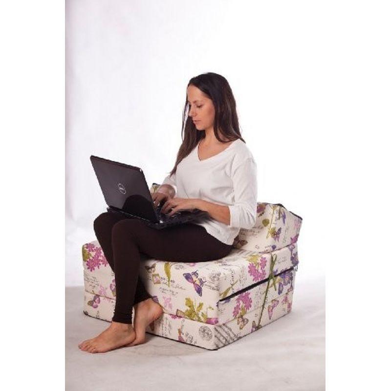 Sitzsackbezug Relax Point - Weiß