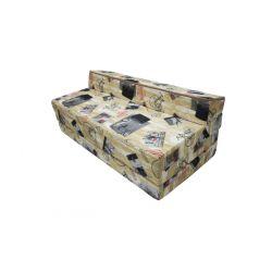 Fotel składany 160x60x12 cm - 0001