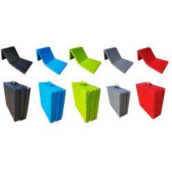 Folding mattress cover 195x65x10 cm - LONDON2