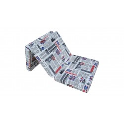 Folding mattress cover 198x80x10 cm - LONDON2