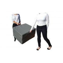 Pokrowiec na Fotel materac składany 200x70x10 cm - 1000