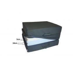 Pokrowiec na Fotel materac składany 200x70x10 cm - 0001