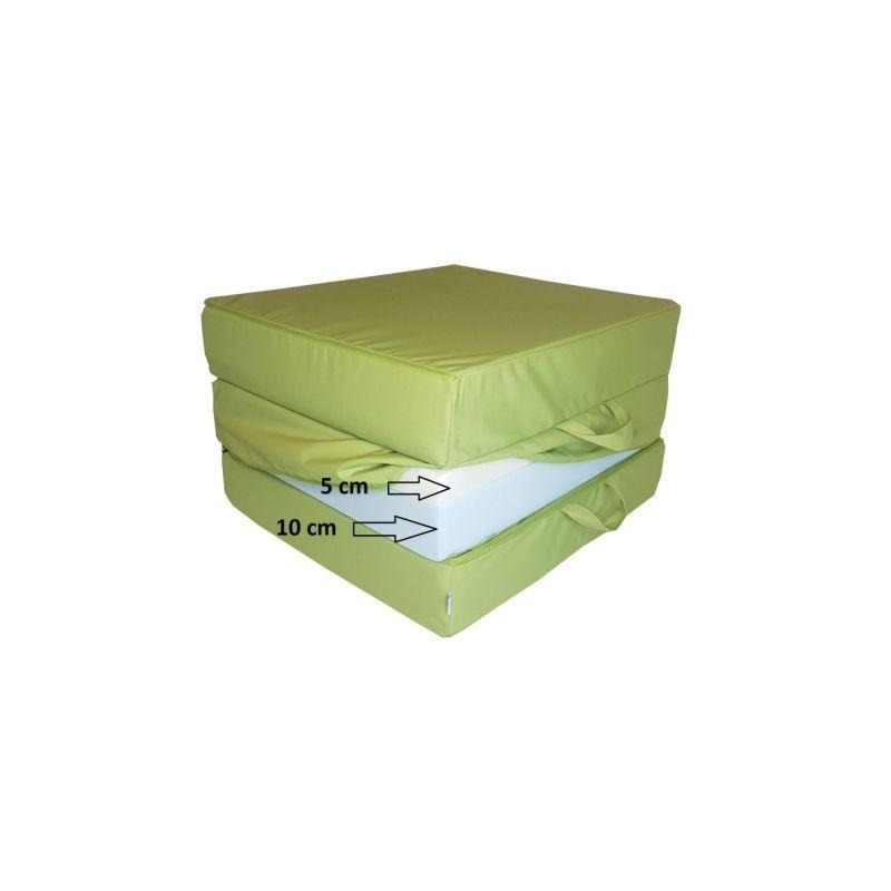 Pokrowiec na Fotel materac składany 200x70x10 cm - 1229