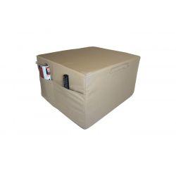 Pokrowiec na Fotel materac składany 200x70x10 cm - 3100