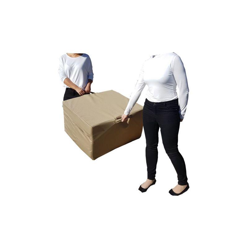 Pokrowiec na Fotel materac składany 200x70x10 cm - 1008