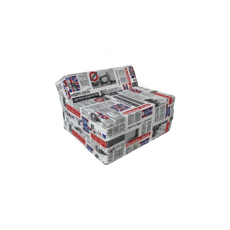 Folding mattress 200x70x10 cm - LONDON2