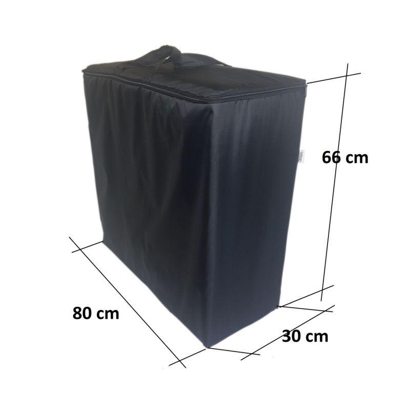 Pokrowiec na materac dziecięcy 160x60x12 cm-1009