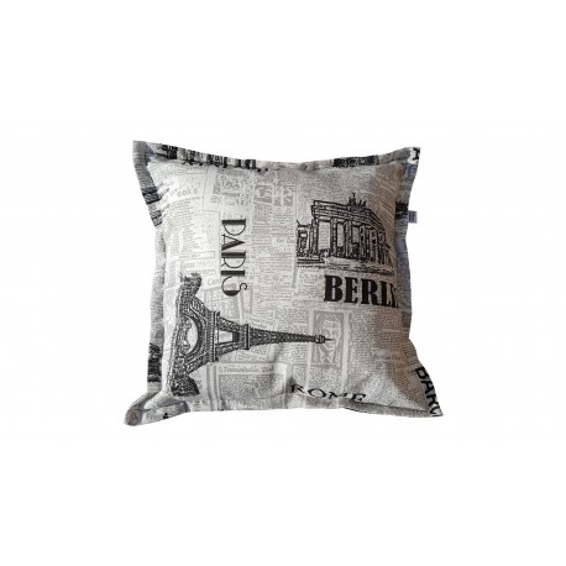 Pokrowiec poduszki dekoracyjnej 50x50 cm -PRESS