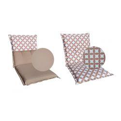 Poduszki na krzesła 38x38x2 cm - 005