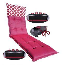 Materac składany 195x65x10 cm -FLOWER