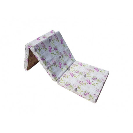Folding mattress 195x65x10 cm - FLOWER