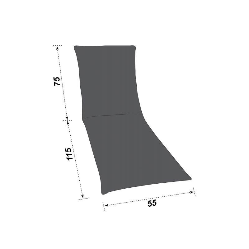 Nackenrolle mit 100 % Polyester Füllung- Antiallergisch- Blau