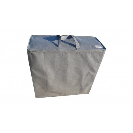 Storage bag for folding mattress  195x65x8 cm - Grey