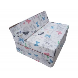 Fold Out Guest Chair Cover 200x70x10 cm - GLORY