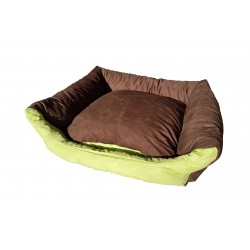 Dog bed Max- size L - brown/green