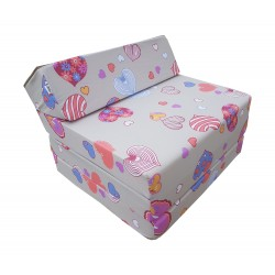 Fold Out Guest Chair Cover 200x70x10 cm - C901