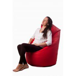 Pouf Relax POINT - bleu