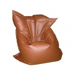Pouf Relax POINT - brun