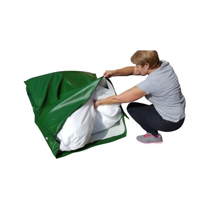 Beanbag Chair Cover Little Point - Black