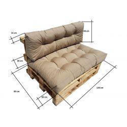 Tri-Folding Screen - Terracotta