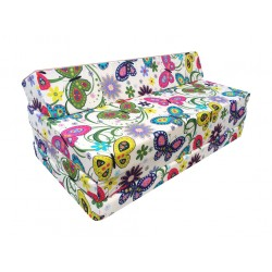 Fold Out Sofa Cover 200 cm x 120 cm x 10 cm- GARDEN