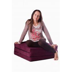 Folding mattress 195x65x10 cm - 1000