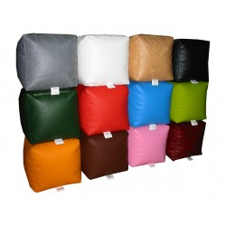 Beanbag Chair Cover Little Point - Dark red